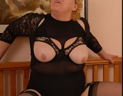 Classy blonde curvy mature that's Fanny's Frolic website